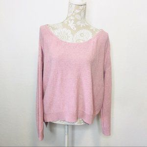 Moth Anthropologie Pink Knit Sweater SMALL 1218